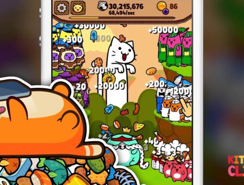 Kitty Cat Clicker - Clicker Game with Cute Kittens for iPhone and Android