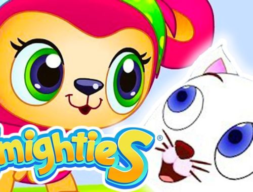 Smighties - Cute Kitten and Giant Bubble Rescue   Cartoons for Kids   Children's Animation Videos