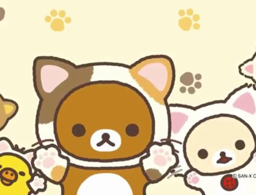 """Rilakkuma """"It's a time to relax with cute cats"""" リラックマ「もっと♪のんびりネコテーマ」"""