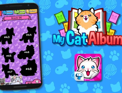 My Cat Album - Sticker Book with Cute Kittens for iPhone and Android
